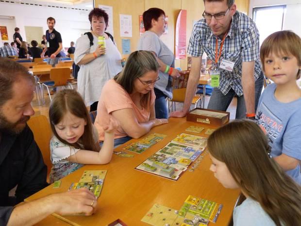 Bei Brettspielen zählt die gemeinsame Strategie