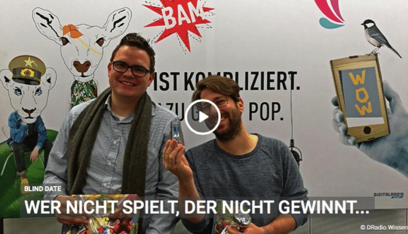BlindDate – Spielfreunde beim Deutschlandfunk
